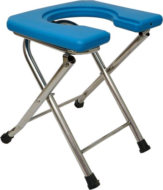 Accurate Healthcare Stainless Steel Commode Chair