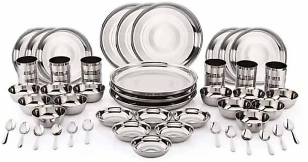 Flipkart SmartBuy Pack of 48 Stainless Steel Dinner Set