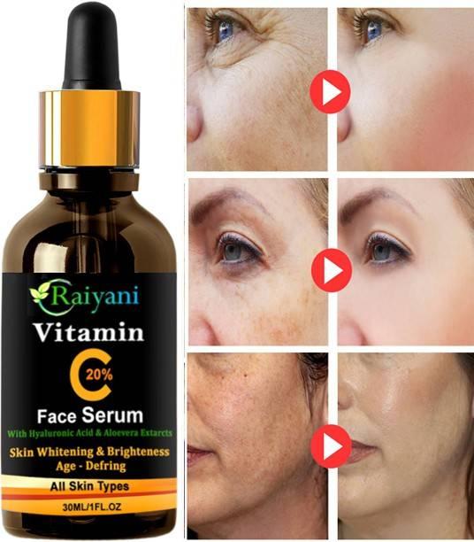 Raiyani Vitamin C Serum Powerful Anti-aging, whitening skin netural serum (30 ml)