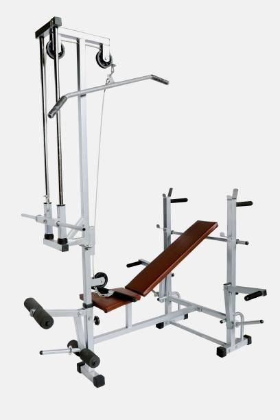 GoFiTPrO GoFiTPrO Multipurpose Home Gym 20 in 1 Bench (Powder Coated Silver Colour) Multipurpose Fitness Bench