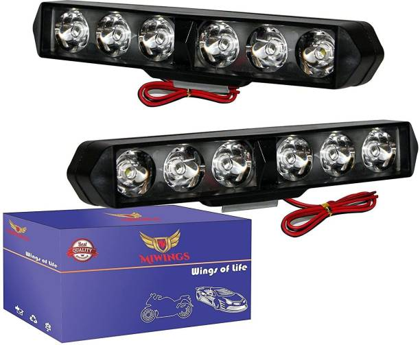 Miwings LED Fog Lamp Unit for Universal For Car Universal For Car