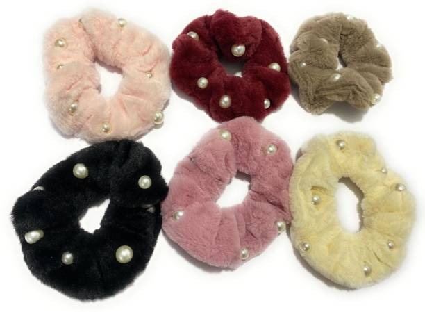 SparkLady Hair Scrunchies For Women, Satin Elastic Hair Ties No Crease Silky Ponytail Holders No Damage Hair Bands Silk, (Multiple Colors) Hair Band