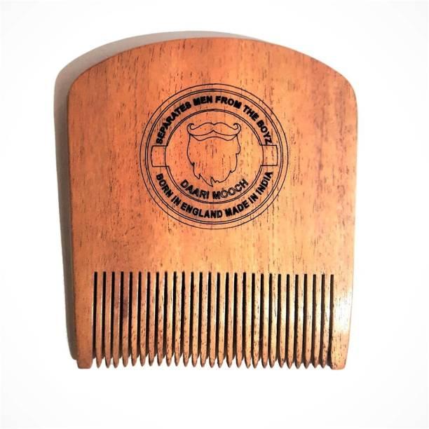 Daarimooch Neem Wood Beard Comb