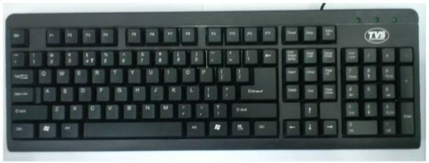 TVS Champ 2.0 Wired USB Desktop Keyboard