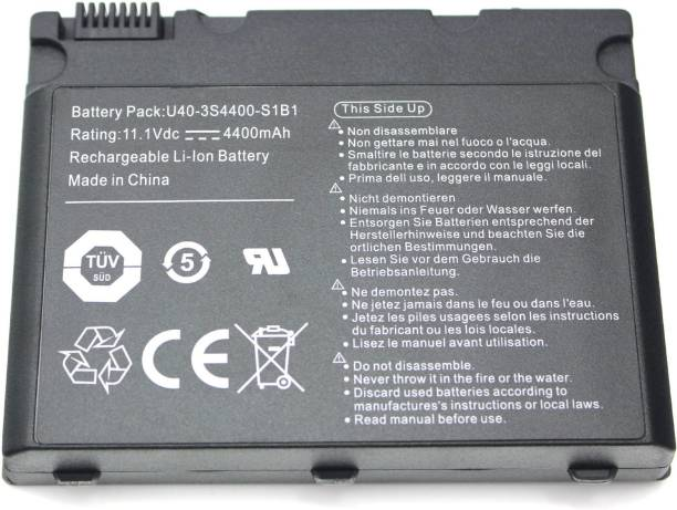 Loungefly Laptop Battery Compatible for U40-3S4400-G1B1 U40-3S4400-G1L3 U40-3S4400-M1H1 6 Cell Laptop Battery
