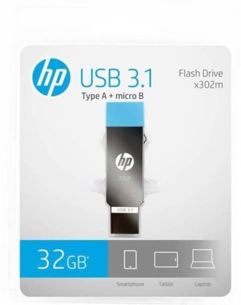 HP x302m 32 GB OTG Drive