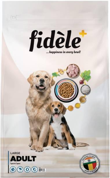 FIDELE + Adult Large Chicken 3 kg Dry Adult Dog Food