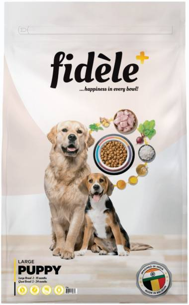 FIDELE + Large Puppy Chicken 3 kg Dry Young Dog Food
