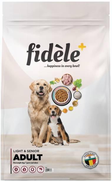 FIDELE + Adult Light & Senior Chicken 1 kg Dry Senior Dog Food