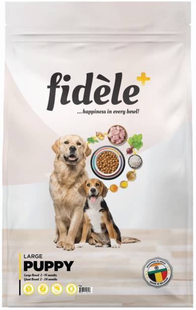 FIDELE + Large Puppy Chicken 1 kg Dry Young Dog Food