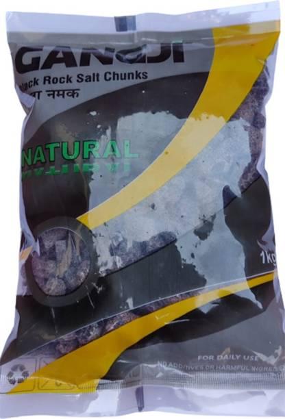 Gangji Himalayan Black Rock Salt Chunks Rock Salt