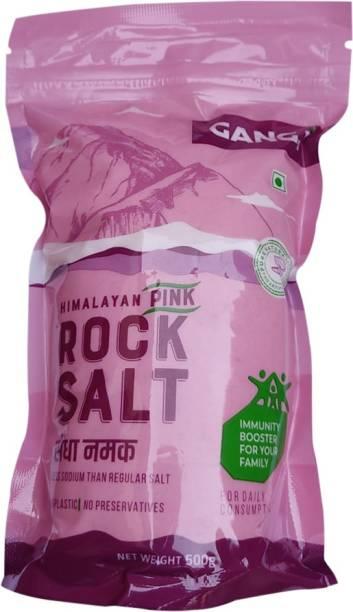 Gangji Himalayan Pink Rock Salt Powder-Pack of 3 Rock Salt