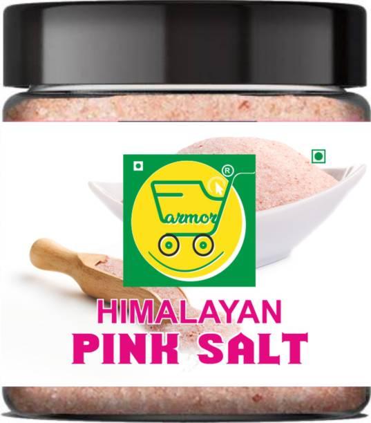 Farmory Pink Himalayan Rock Salt Powder Jar Himalayan Pink Salt