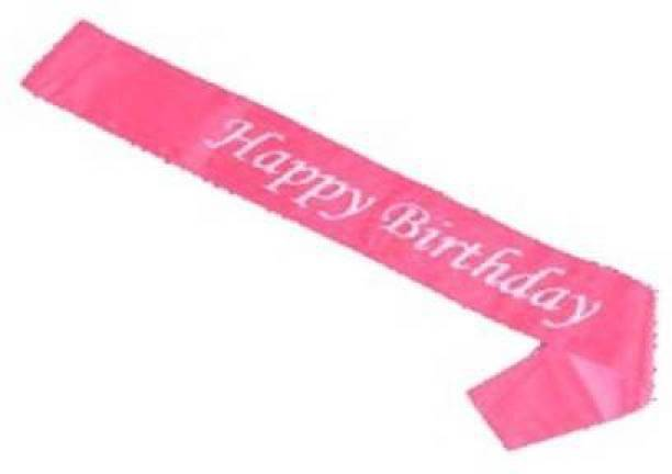PREMIUM PARTY SHOP Happy Birthday Sash for Girls