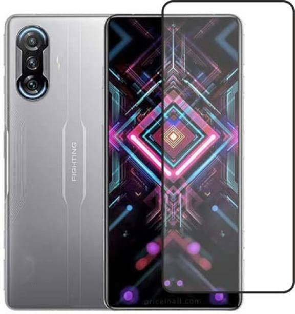 FIVE-O Edge To Edge Tempered Glass for Poco F3 GT