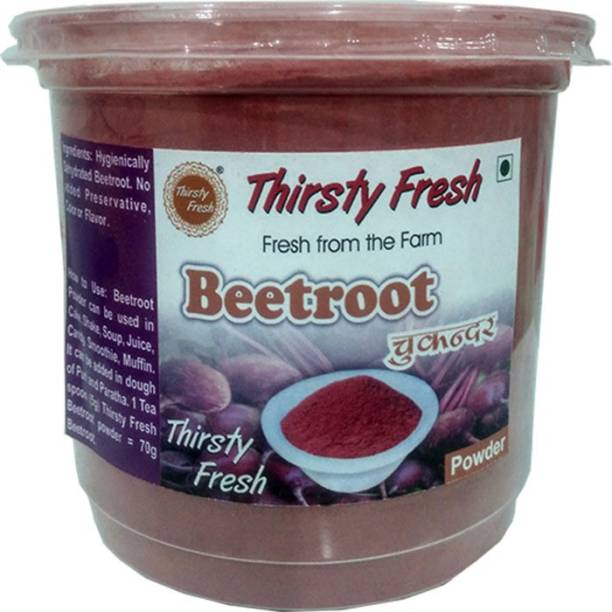 Thirsty Fresh Beetroot Powder – Dehydrated Ready to Use for Kitchen & Health