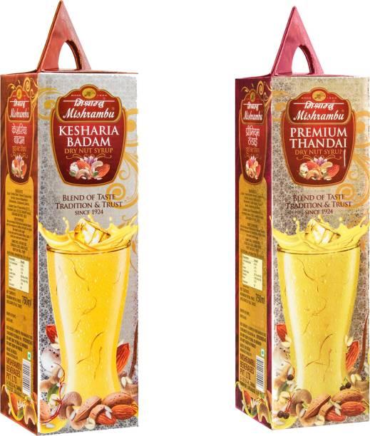 Mishrambu Beverages Private Limited MISH1006 KESHARIA BADAM & PREMIUM THANDAI