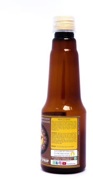 """herbal house LIV SYRUP Helps In Anorexia, Malnutrition & Growth Failure (A Powerful Hepato -Stimulant, Hepato - Protective & Hepato - Regenerator) """"200ML"""" Pack Of 1"""