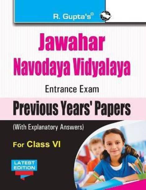 Jawahar Navodaya Vidyalaya (JNV) Entrance Exam (Class VI) 2021 Edition