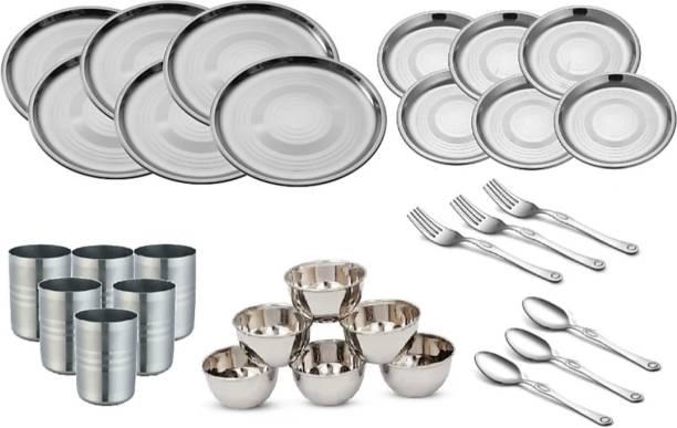 Flipkart SmartBuy Pack of 30 Stainless Steel Dinner Set