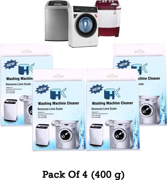 HK Washing Machine Cleaner (Descaler) (Pack of 4) Detergent Powder 400 g