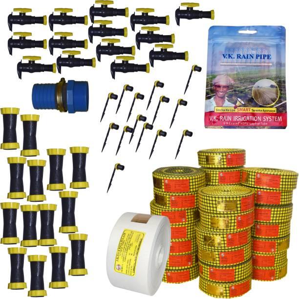 VK Sarvottam (4800 Sq m.) Rain Pipe PRO Irrigation System Drip Irrigation Kit
