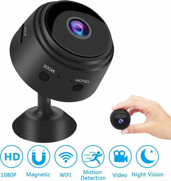 IBS Hidden Mini Spy WiFi HD 1080P Wireless Magnetic Security Camera for Home Built-in Battery with Motion Detection/Night Vision Security Camera