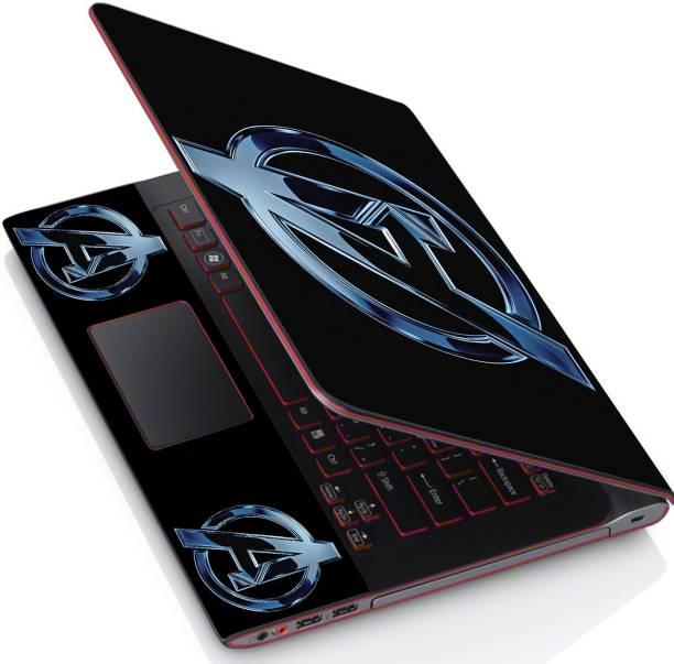 POINT ART HQ Laptop Skin Full Panel Decal Sticker Vinyl Fits Size Bubble Free – New Avengers Logo Vinyl Laptop Decal 15.6