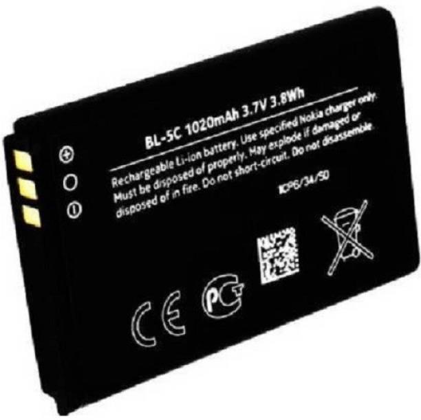 KPS Retailers Mobile Battery For  Nokia 100 Nokia 1100, 1101, 1110, 1112, 1200, 1208, 1209, 1600, 1650, 1800, 2300, 2310, 2323 Classic, 2330 Classic, 2600, 2610, 2626, 2700 Classic, 2730 Classic, 3100, 3109 Classic, 3110 Classic, 3110 Evolve, 3120, 3650, 3660, 6030, 6085, 6086, 6230, 6230i, 6267, 6270, 6555, .