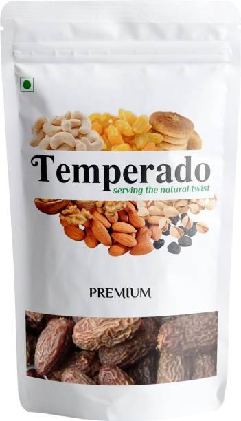 Temperado Dry Fruits Black Dry Dates| Kala Chuara| Kali Kharak | 500gm Dates