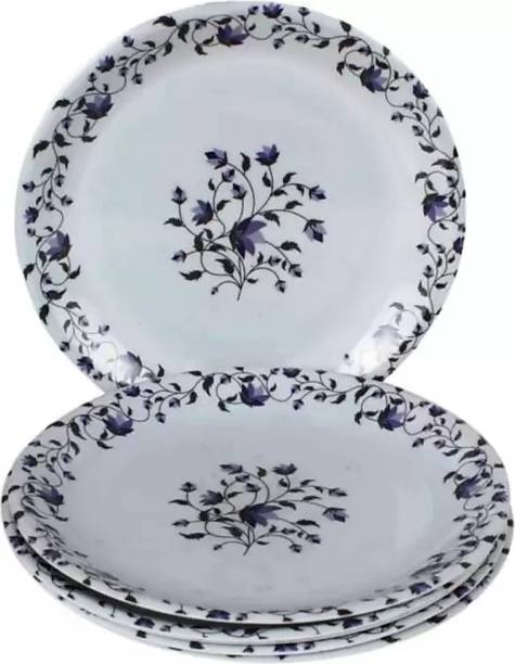 Seleven eleven 11 inch Crazy Blue Chain Dinner Plate