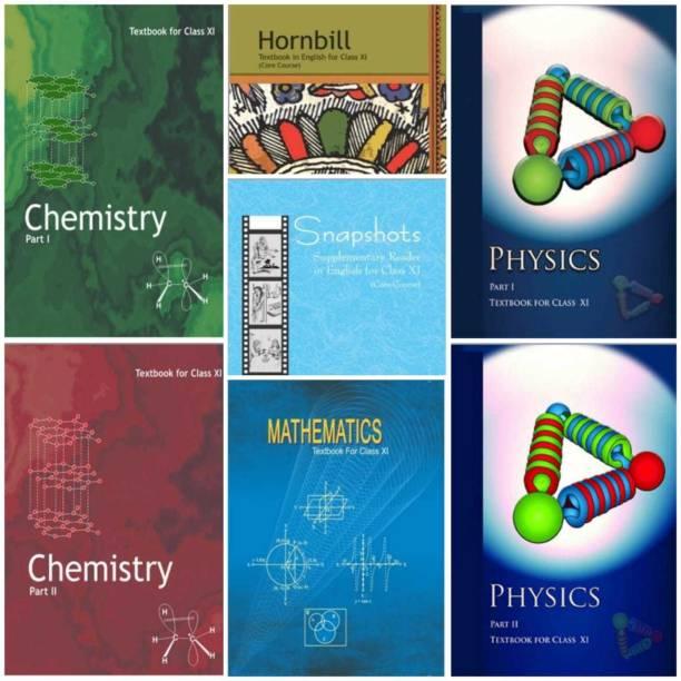 Ncert Science Book 11th Class Set 1. Physics Textbook Part1 And Part 2 2. ChemIstry Textbook Part 1 And Part 2 3. English Textbook Part1 And Part2 4.Mathematics Textbook (HARDCOVER) ENGLISH MEDIUM (Ncert Science 7 COMBO BOOK SET (PCM)
