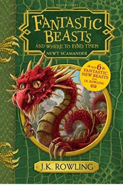 Fantastic Beasts And Where To Find Them (English, Hardcover, J. K. Rowling)