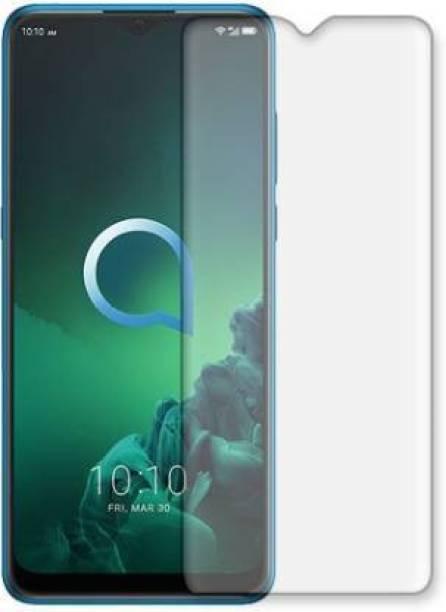 Gizmo Zone Impossible Screen Guard for Alcatel-3x Front Screen Guard (9H Tempered Glass)