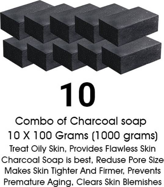Hari Krishna Healthcare Activated Charcoal Soap for face and Body Wash