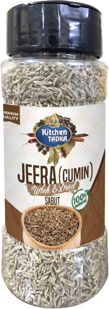 KITCHEN TADKA |Organic Jeera|Cumin Seeds|Whole|Sabut|Pack of 2|125gm Each