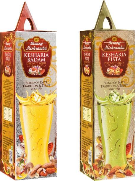 Mishrambu Beverages Private Limited MISH1007 KESHARIA BADAM & KESHARIA PISTA