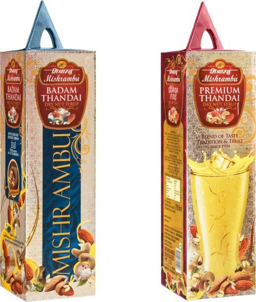 Mishrambu Beverages Private Limited MISH1008 BADAM THANDAI & PREMIUM THANDAI