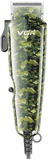 VGR V-126 Camouflage Professional Corded Hair Clipper  Runtime: 0 min Trimmer for Men