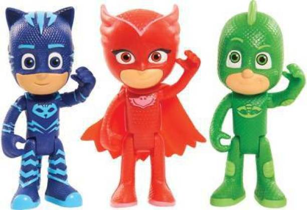 The Simplifiers 3 piece PJ Mask Action Figures Toy