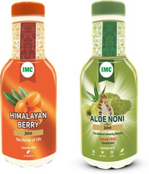 IMC Himalyan berry juice and Aloe Noni juice