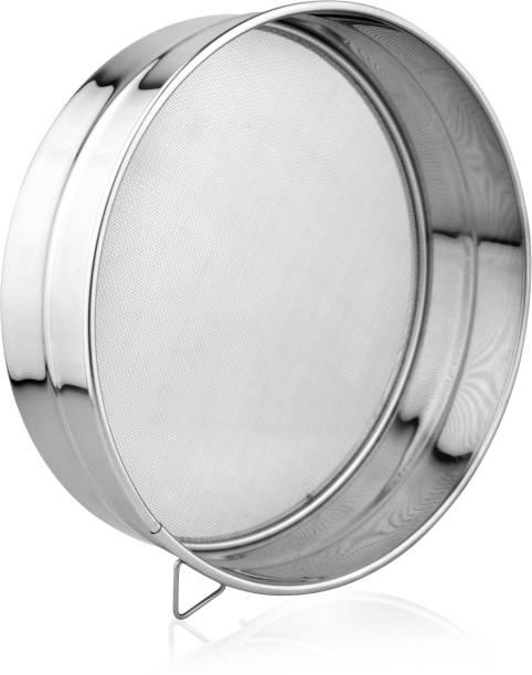 SEGOVIA stainless steel fine mesh Flour| Aata Strainer 21.5cm Strainer