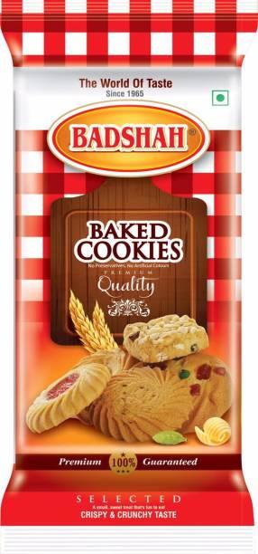 BADSHAH MILK RUSK BDSAHBaked Cherry cookies -(Pack of 3)-300g each Cookies