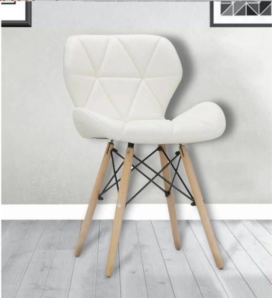 THE FURNITURE MASTER Leatherette Living Room Chair
