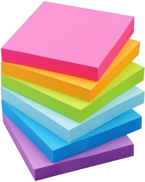 pollwala sticky note 100 Sheets color, 5 Colors