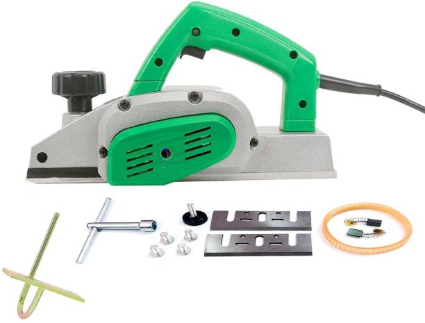 Mass Pro Electric Woodworking Planer 650W / 14000RPM / Blade 82mm Machine of Carpentry High Power Multi functional Electric Planer Professional Woodworking Machine With Attachments ALFA Corded Planer