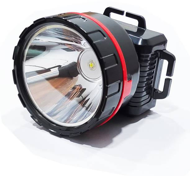 TRX 25 Watt Adjustable Laser LED 500 Meter Long Range Head Mount Rechargeable Head Light Torch Lamp Torch With Charger, Perfect fit for Hiking, fishing, Camping, Climbing, Working, Emergency, And Many More Torch Emergency Light