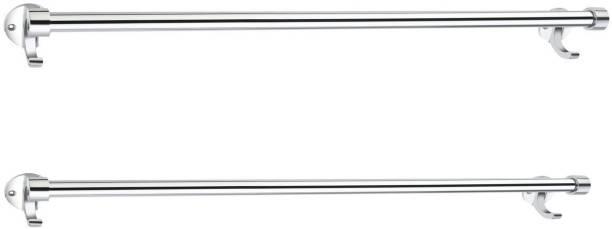 QUXOZO 25 inch 2 Bar Towel Rod