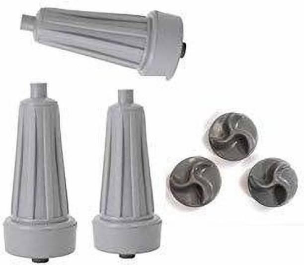 Amaze Trade 3 pcs pulsator roller plus 3 pcs pulsator flower Compatible With Semi automatic Washing Machine Washing Machine Net