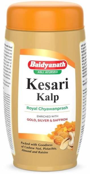 Baidyanath Kesari Kalp Royal Chyawanprash ( Enriched with Gold, Silver & Saffron )